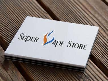 Logo for Vape Store
