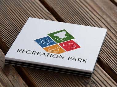 Logo for 4 Post Recreation Park