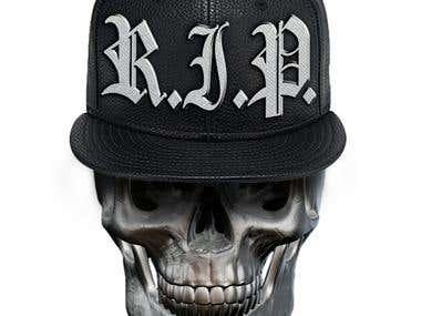 3d skull desigin