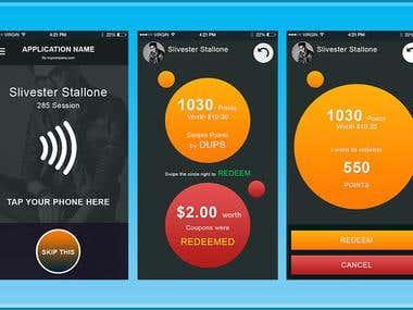 Mobile App GUI