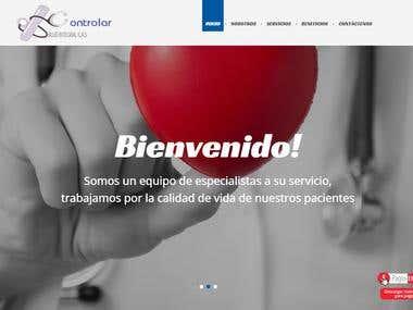 Diseño Web/Web Design Responsive controlarsalud.com