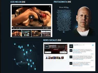 Diseño Web/Web Design Responsive canaldhe.com