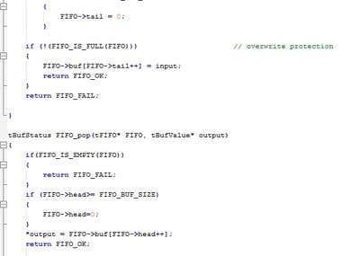 C-code example