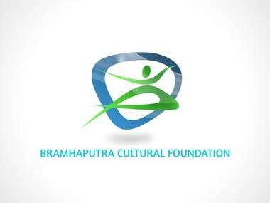 Brahmaputra Cultural Foundation Logo Design