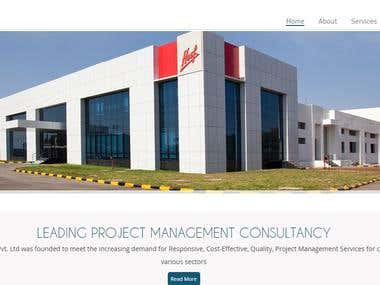 RASS Project Website design