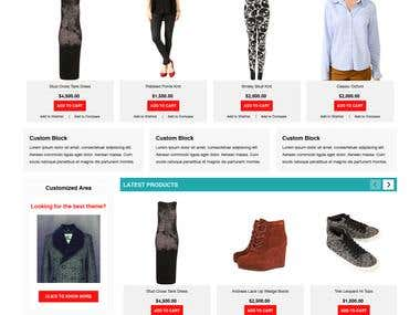 Fashion Store in Magento