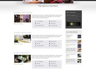 Hotel Site in Wordpress