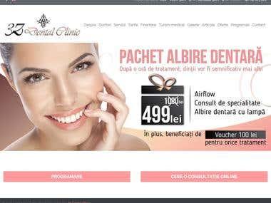 3Z Dental Clinic - Wordpress Website