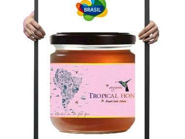Exotic honey from Brazil