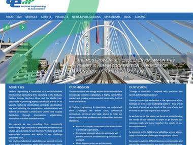 Techno Engineering - Wordpress Website