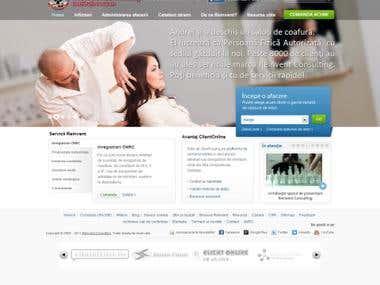 Reinvent Consulting Joomla Website