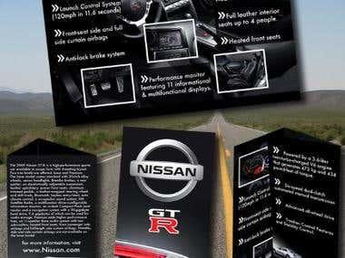 Nissan GTR Brochure