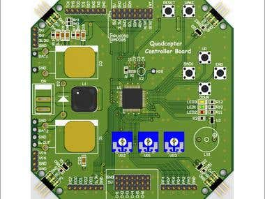 Quadcopter Controller Board
