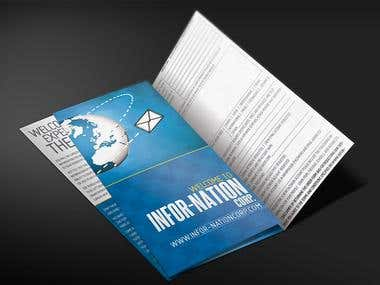 Trifold Brochure  Design - Marketing &  Branding