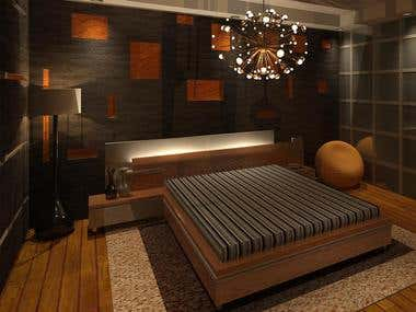 Room Proposal, Interior Design.