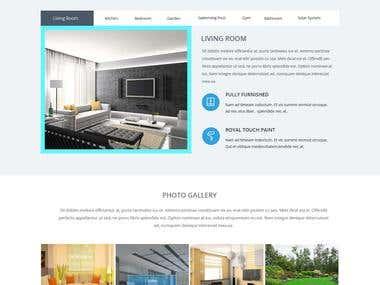 Readmind property website template