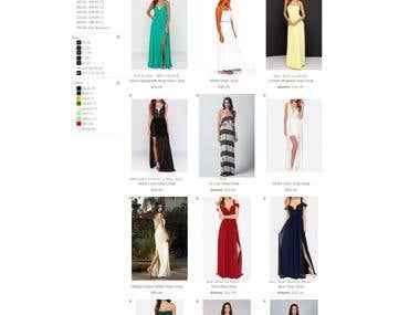 My DressRoom: Magento web site