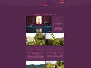Chateau Castigno: WordPress web site