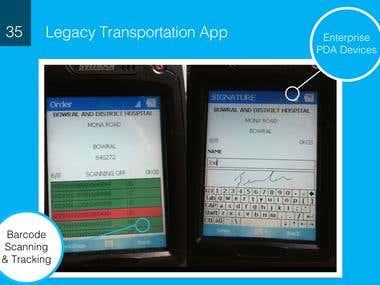 Legacy Transportation App