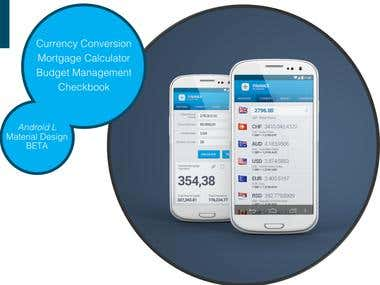 Financial Planner Android App