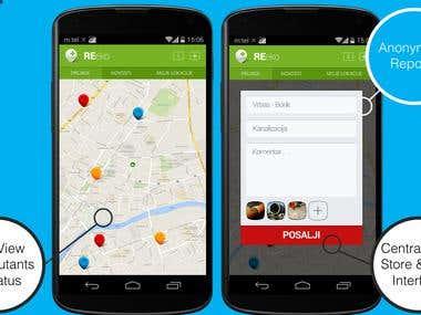 Environmental Agency Android App