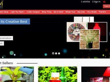 Open Cart responsive eCommerce website