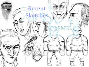 Character Sketches B