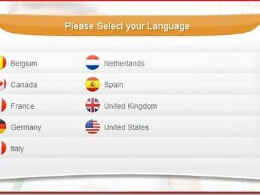 Multilanguage Website