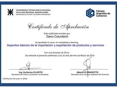 Forex Course Certificate