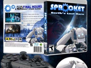 Sprocket Game Cover/Package