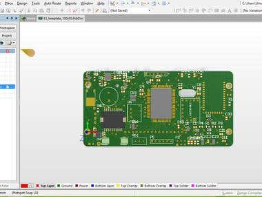 PCB design in Altium(4 Layers)