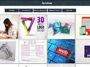 IT Company  \' S Website