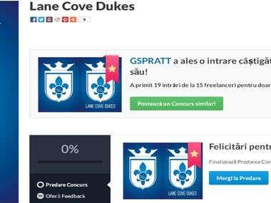 Logo for Lane Cove Dukes