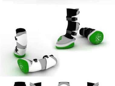 Dog shoes design