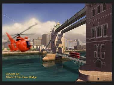 Tower bridge attack