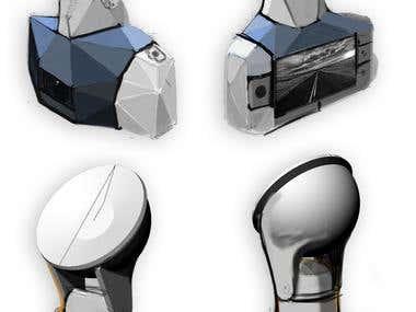 Car camera concepts.