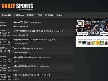 Crazy Sports Live [www.crazysportslive.com]