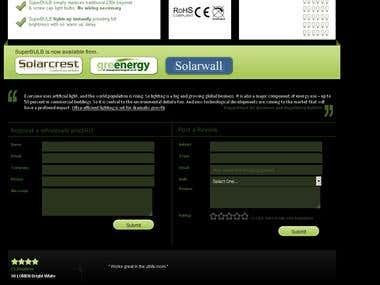 Review System on the Website