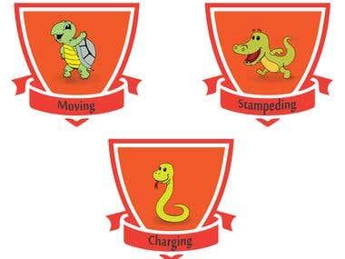 Badge design for website