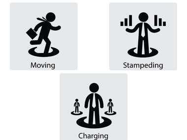 badges icon design for business website