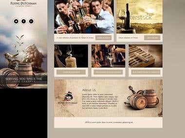 Design for Liquor Store