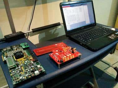 Xilinx Virtex-7 (VC707) based signal generator