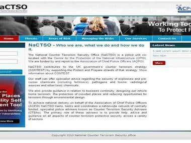 NaCtso - Counter Terrorism - Sharepoint