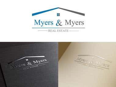 Myers&Myers logo and business card