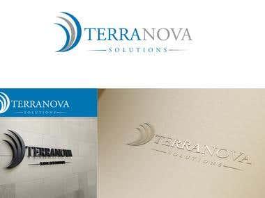 TerraNova logo and business card
