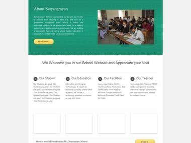 A Wordpress Template