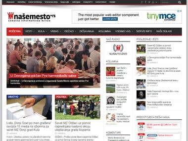 Local News Portal: nasemesto.rs