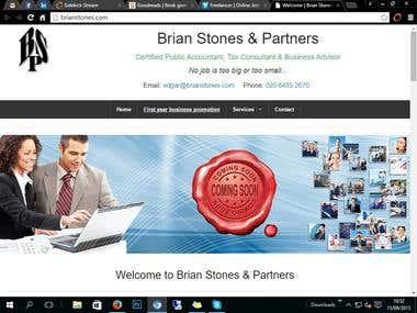 brianstones.com website