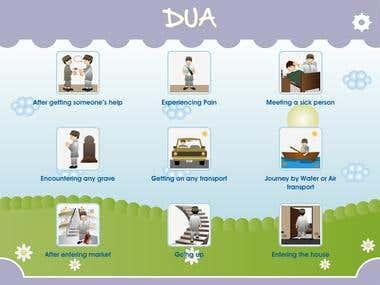 Dua ( دعا   )  for  Kids