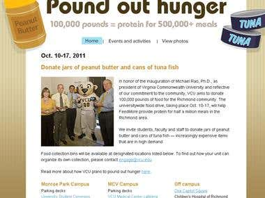 Pound Out Hunger (Work)
